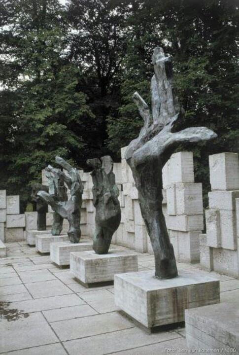 Joods monument. Edu Waskowski