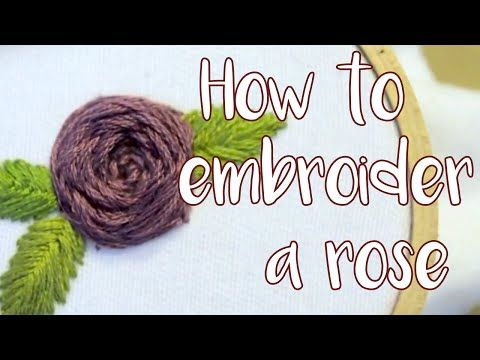 Hand Embroidery | Flower Designs for Dresses | HandiWorks #56 - YouTube