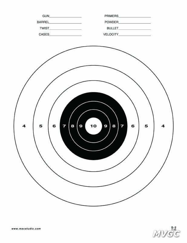 printable pistol targets 8.5 x 11 | Printable 8.5 X 11 Targets For Shooting Printable targets