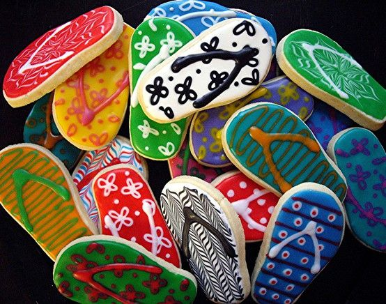 Thong cookies for Australia Day?  pinterest.com/visitaustralia #AustraliaDay ☺ Happy Australia Day ☺