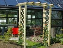 Hegn - HaveHegn - Pileflet - Bambus - Plastik Hegn - Stolper køb rosenbuer hos jima Hegn