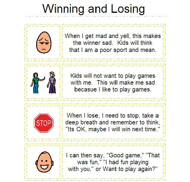 Helping Kids understand Winning and Losing