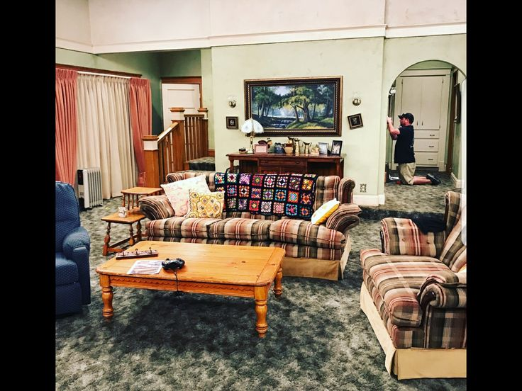 'Roseanne' 2018 Progress On The Set.