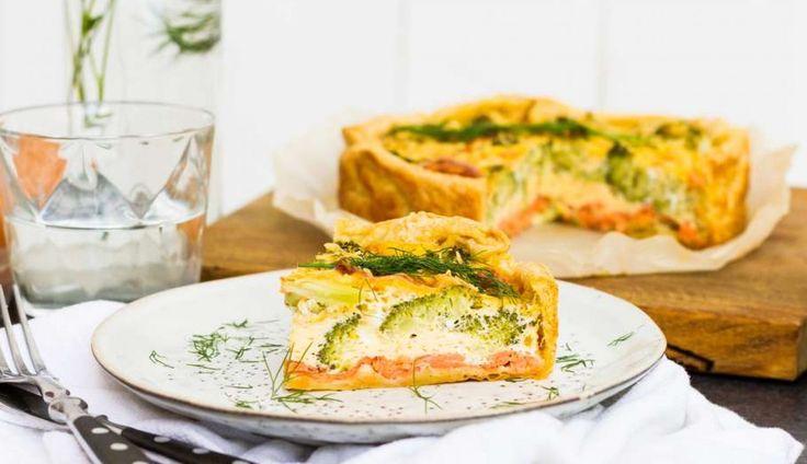 Weer een lekkerreceptuit deKoken met Aanbiedingenapp: broccoliquiche met gerook...