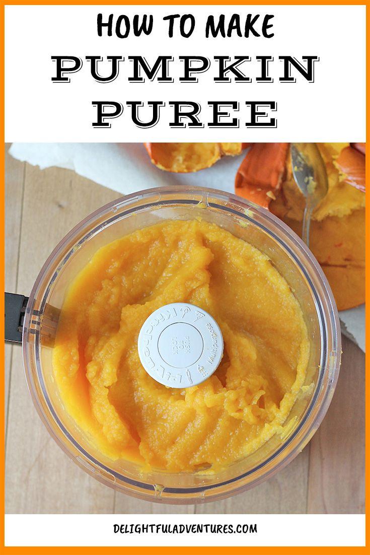 How To Make Homemade Pumpkin Puree It S Easy Recipe Vegan Holiday Recipes Favorite Pumpkin Recipes Homemade Pumpkin Puree