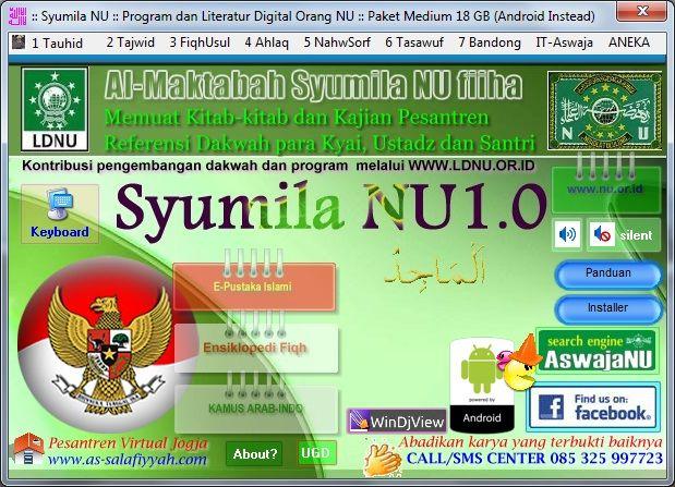 Antarmuka Syumila NU Paket Medium 18 GB
