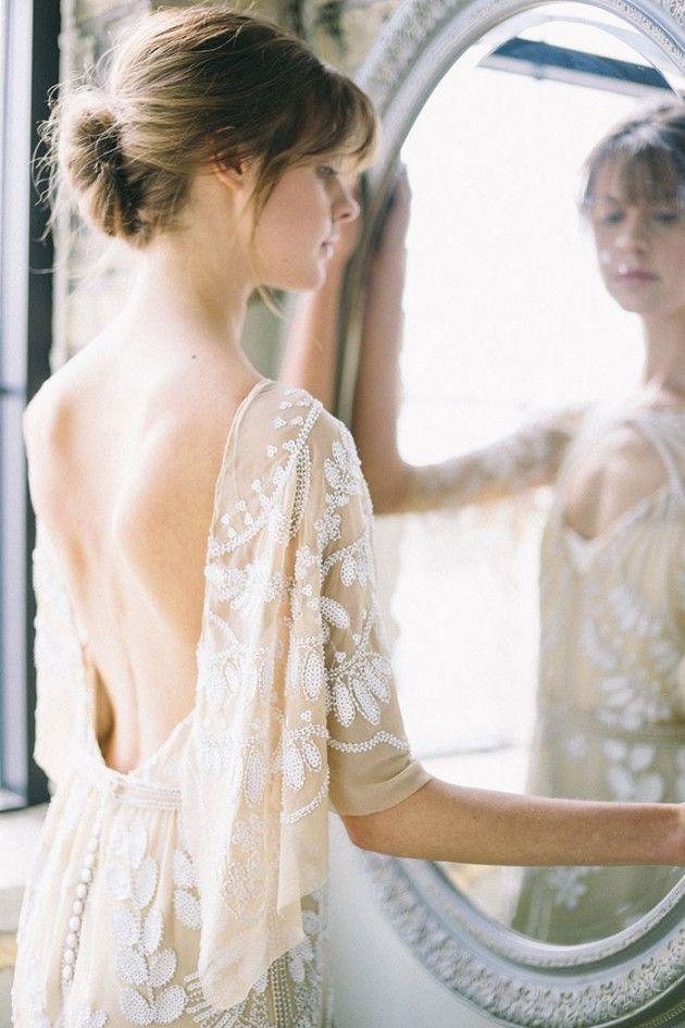 vintage parisian wedding inspiration | rue de seine gown | aandbe bridal shop