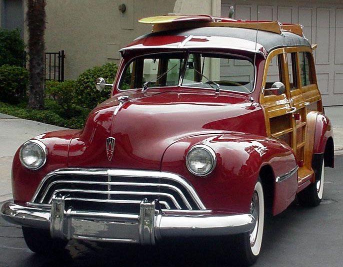 1945 ford woodie | Woodie Gallery: American Woodie Autos 1945 to 1949 - Old Woodies
