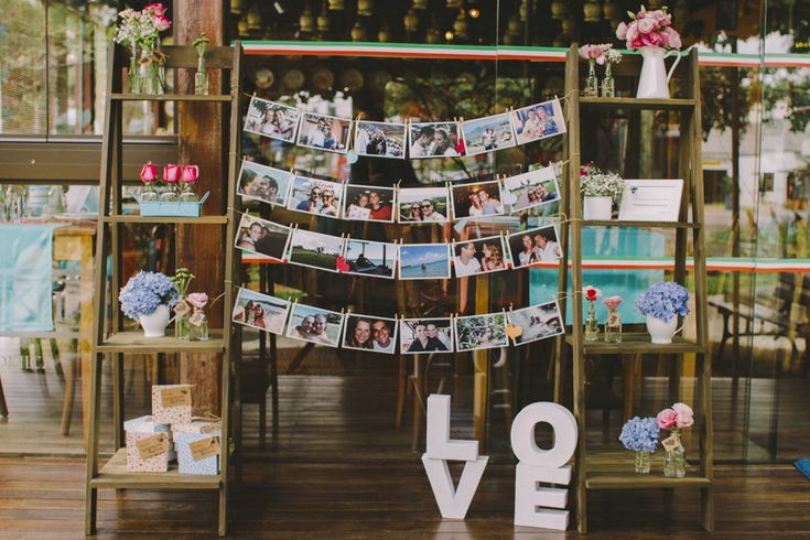 painel de fotos, wedding, casamento, idéia