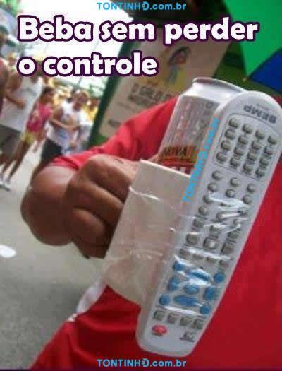 sempre com controle