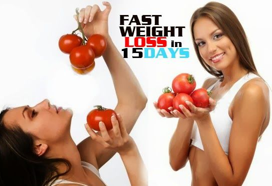 Lose weight in 15 days - Tomato challenge.