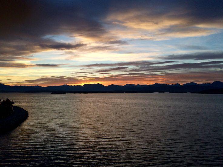 Восход в Норвегии