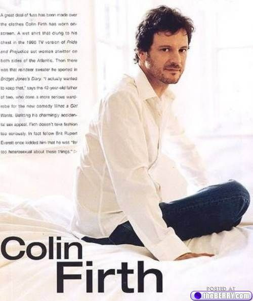 eye candy colin firth 3 Afternoon eye candy: Colin Firth (21 photos)