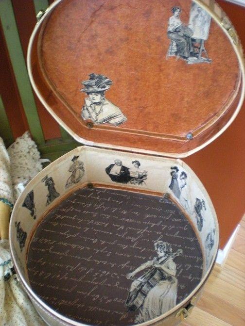 marinni | Багаж-часть 3.Старинные шляпные коробки.