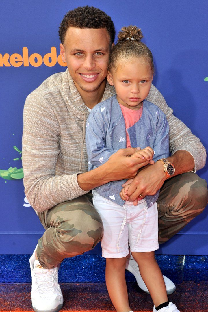 Stephen Curry Is the Spitting Image of His Daughter Riley in This '90s Ad