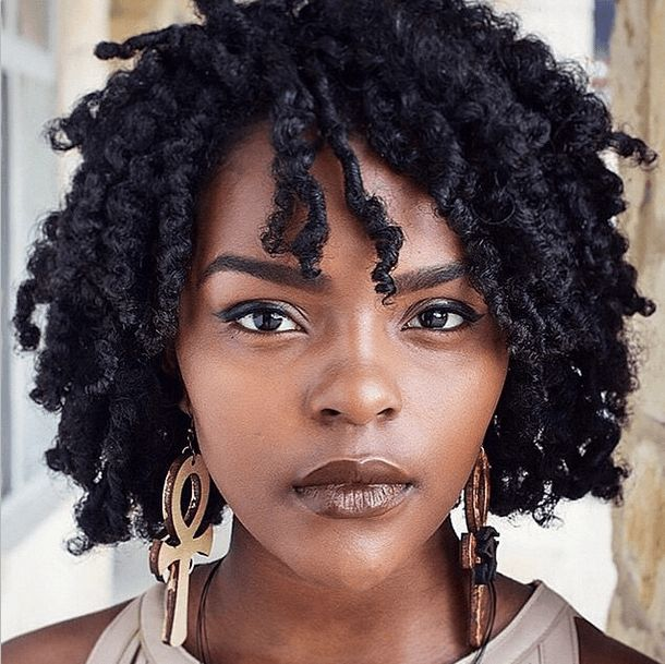 Black Hairstyles 124 Best Model  Hanna Lashay Images On Pinterest  Natural