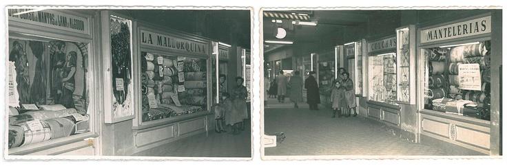 1947  LA MALLORQUINA A LES GALERIES MALDÀ ON VA INICIAR LA SEVA ACTIVITAT COMERCIAL