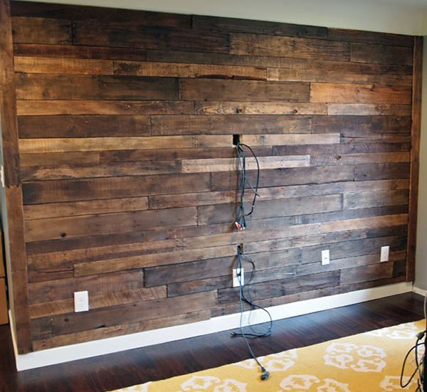 Pallet Wall Construction