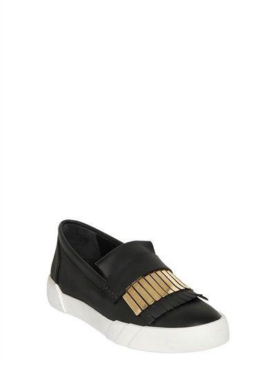 GIUSEPPE ZANOTTI DESIGN - METAL FRINGE SLIP-ON SNEAKERS. Margiela ShoesGiuseppe  Zanotti DesignMen's ...