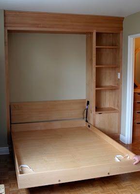 Custom Maple Murphy Bed « Springhouse Shop & Studio