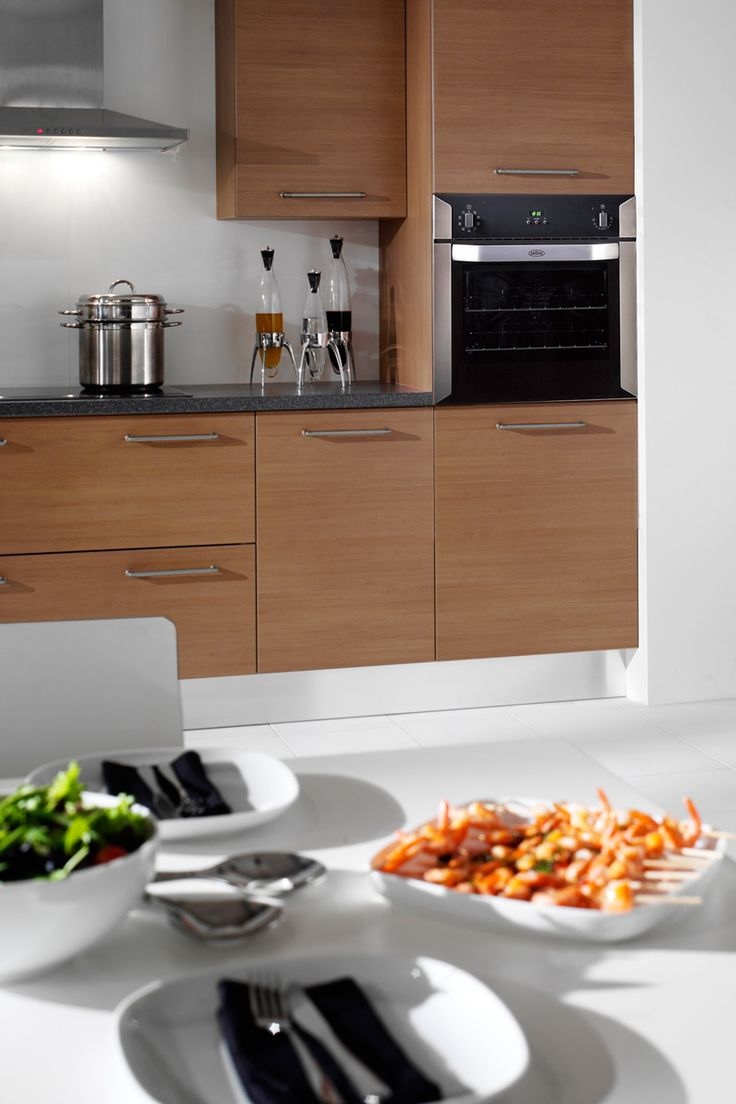 Built-in 60cm electric built-in multi-function oven - stainless steel #Belling #UKmade #madeinBritian #British #cooker