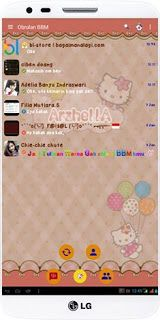 Download BBM MOD HELLO KITTY V2.12.0.11 Apk Terbaru 2016