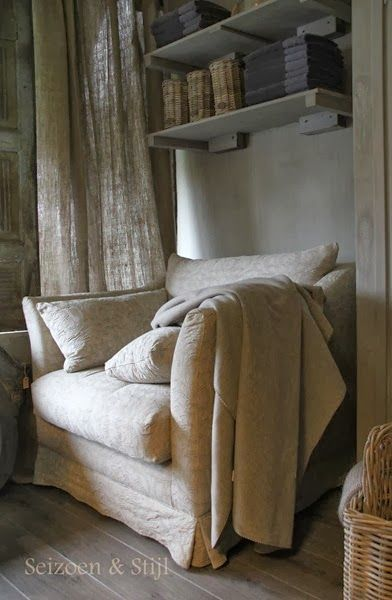 Who doesn't love a big puffy, comfy armchair