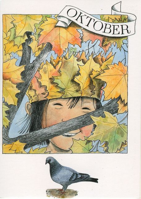 Lena Anderson - October postcard (Sweden) | Flickr - Photo Sharing!