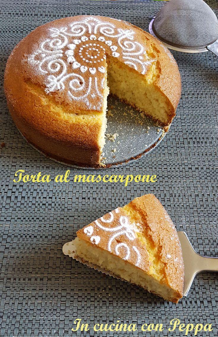 Torta al mascarpone soffice e deliziosa ricetta semplice