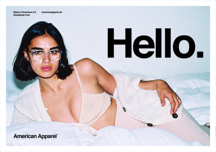American Apparel Ad - photographer Jules Faure