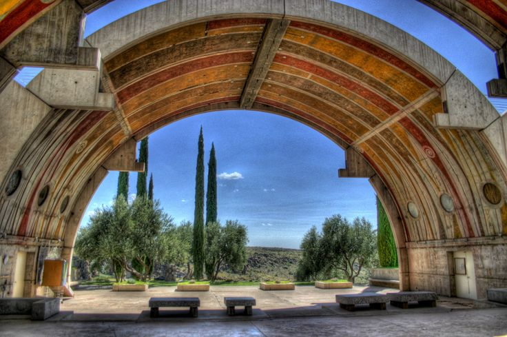 Arcosanti, Arizona | 24 Stunningly Beautiful Places In The Southwest You Need To Visit Before You Die
