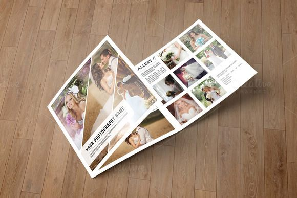 Wedding Photography Brochure-V530 by Template Shop on @creativemarket