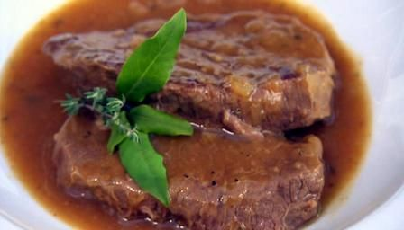 Simply the best braised steak recipe ever.Tried and tested by Betty (and DH). Freezes great too.