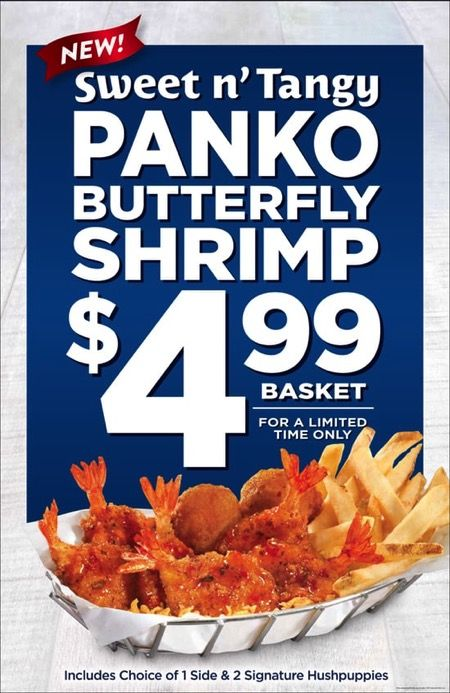 """Join 10 people right now at """"FAST FOOD NEWS: Long John Silver's Sweet n' Tangy Panko Butterfly Shrimp - The Impulsive Buy"""""""