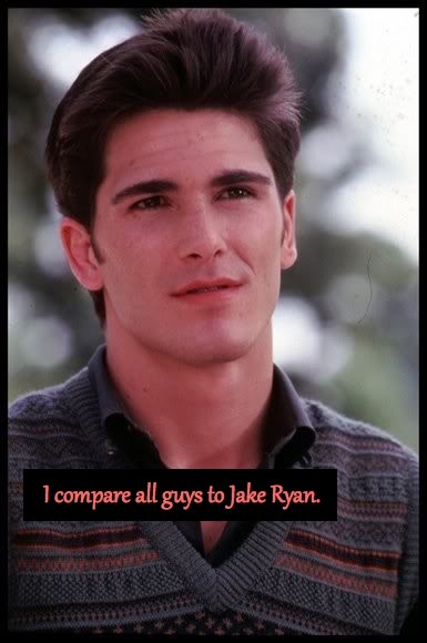 Jake Ryan, YUM! <3  Didn't we all want our lives to be like a John Hughes films?