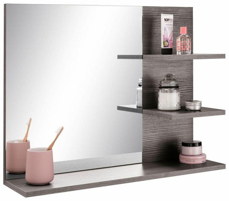Welltime Spiegel »Miami« mit Ablage für 69,99€. Maße (B/T/H): 72/17/57 cm, Pflegeleichte Oberfläche, FSC®-zertifiziert, Hochwertige Verarbeitung bei OTTO
