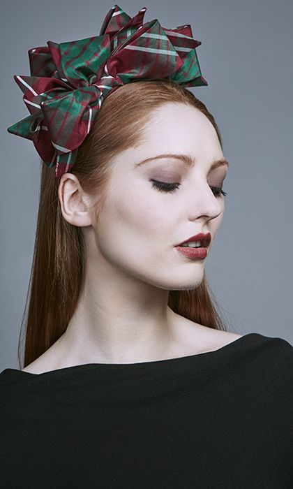 Rachel Trevor Morgan Millinery Autumn Winter 2016