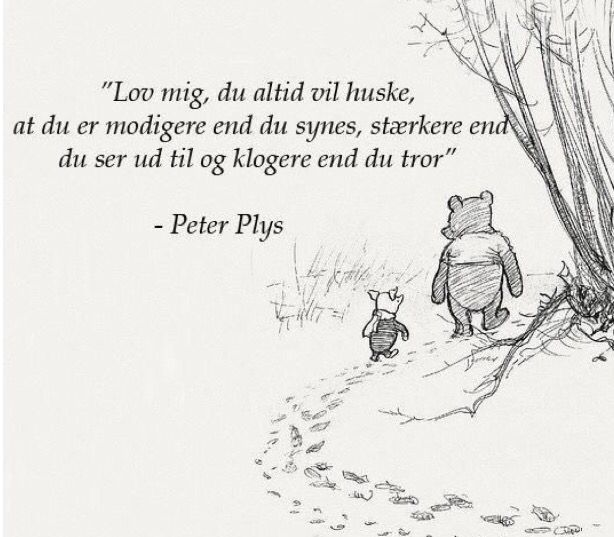 Peter plys citat