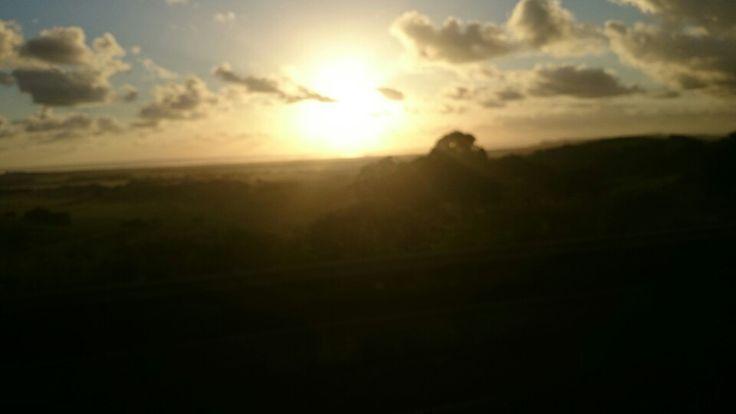 Sun rise, Ballana area N.S.W