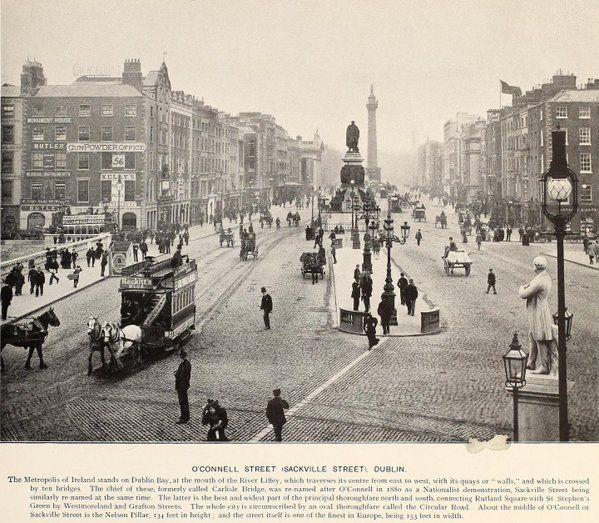 O'Connell Street, Dublin Permalien de l'image intégrée