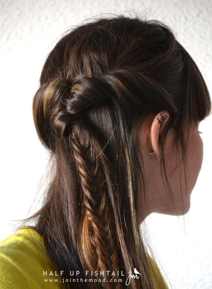Luxusfrisuren Fur Langes Haar Youtube Tutorials Einfache Frisurenhaarstyling Weiches Haar Frisuren Haar Frisuren Haar Styling Geflochtene Frisuren