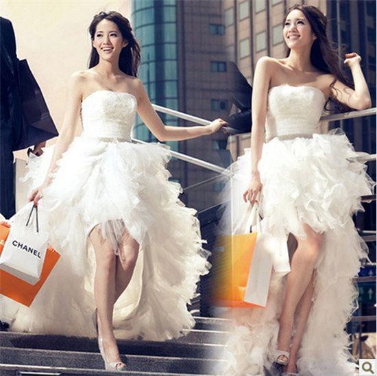 今年に大人気のウェディングドレス エンパイアドレス ウエディングドレス ドレス 花嫁 ミニドレス パーティードレス 二次会ドレス 結婚式 演奏会 ミニドレス【楽天市場】