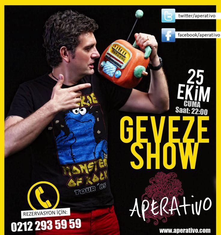 Aperativo; Cuma saat 22:00 'da Geveze Aperativo da sizlerle.. www.aperativo.com   #eğlence #eğlencemekanı #aperativotaksim #karaoke #events #aperativo