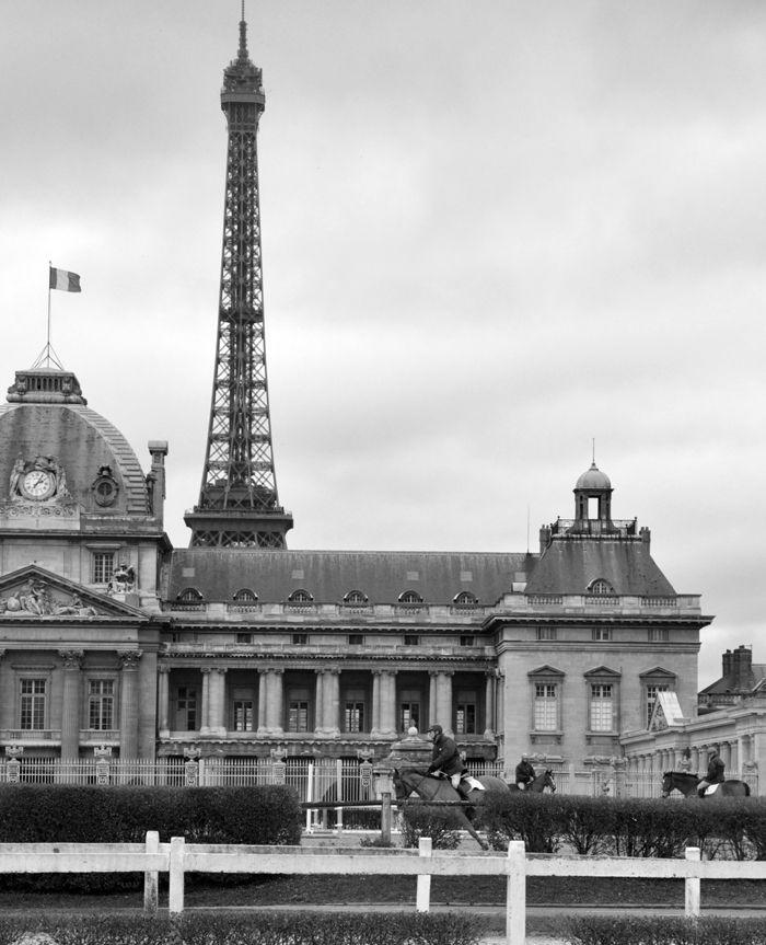 Souvenirs de mes reprises a l'école militaire ~ Paris