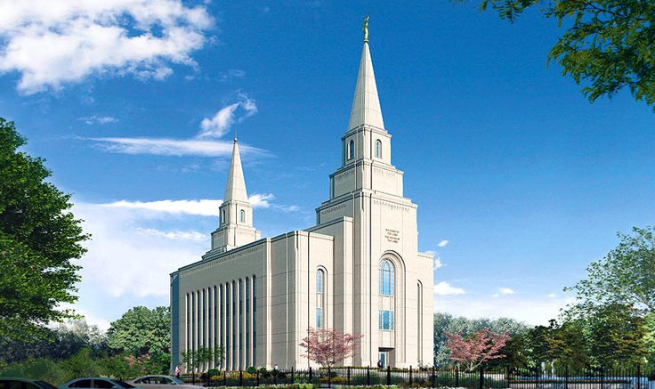 The Kansas City Missouri Temple is located within the ward boundaries of the ward we attended while in medical school.