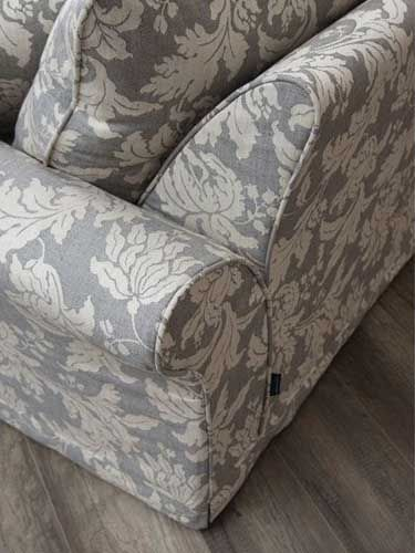 Collins and hayes upholstery and furniture. Rear of the Hampton Chaise Arm. More information at www.haynesfurnishers.co.uk/upholstery-range/collins-and-hayes
