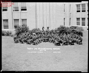 Taft. Jr. Highschool Band  More recent  Oklahoma Historical Society