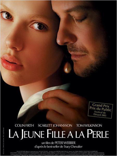 La Jeune fille à la perle : affiche Colin Firth, Peter Webber, Scarlett Johansson