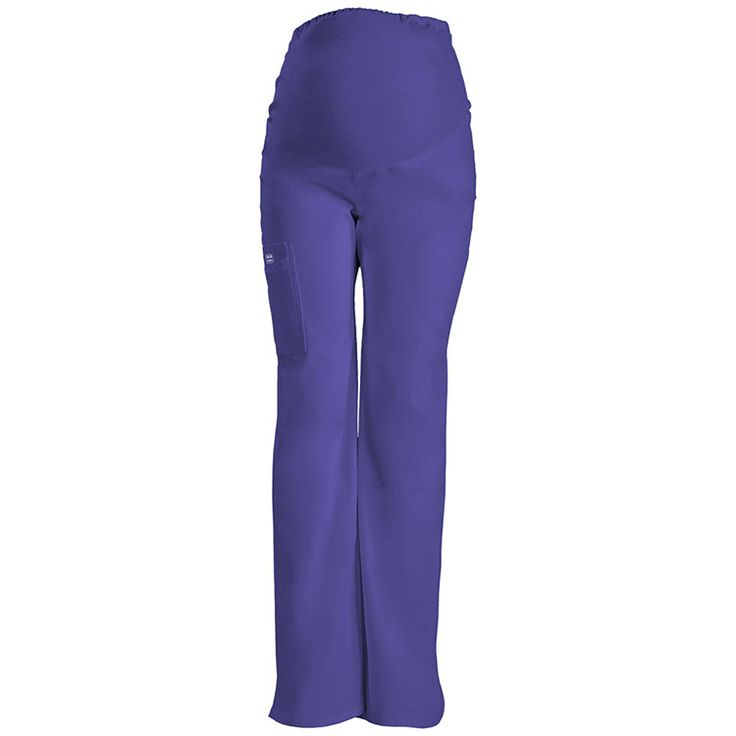These maternity scrub pants from Cherokee's Workwear Core Stretch line will see you through your pregnancy in style.