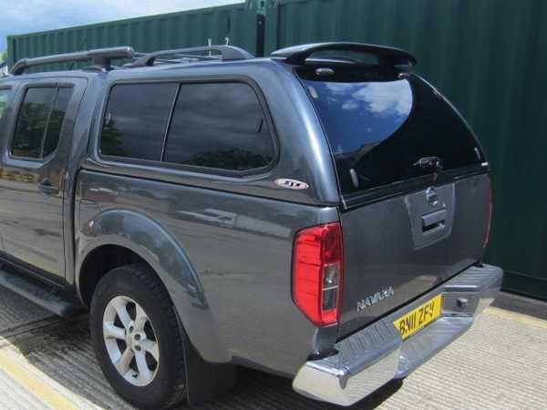 Nissan Navara SJS Hardtop Double Cab - Central Locking Optional Extra for the Nissan Navara D40 MK2 (10-16)